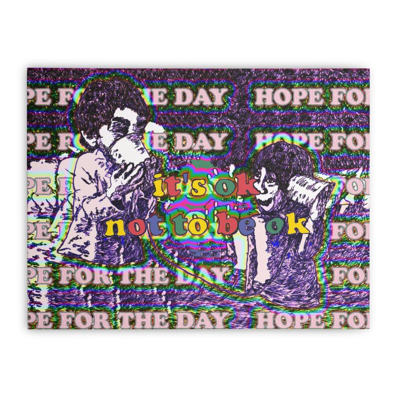 Zacq Rosen - SpreadTheWord! Home Stretched Canvas by Hope for the Day Shop