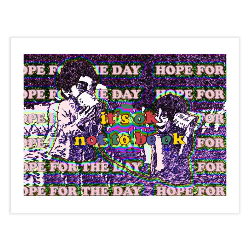 Zacq Rosen - SpreadTheWord! Home Fine Art Print by Hope for the Day Shop