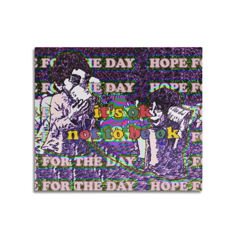 Zacq Rosen - SpreadTheWord! Home Mounted Aluminum Print by Hope for the Day Shop