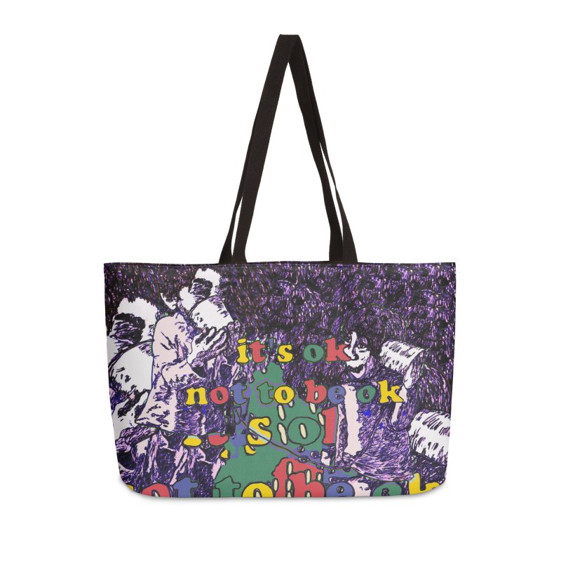 Zacq Rosen - SpreadTheWord! Accessories Weekender Bag Bag by Hope for the Day Shop