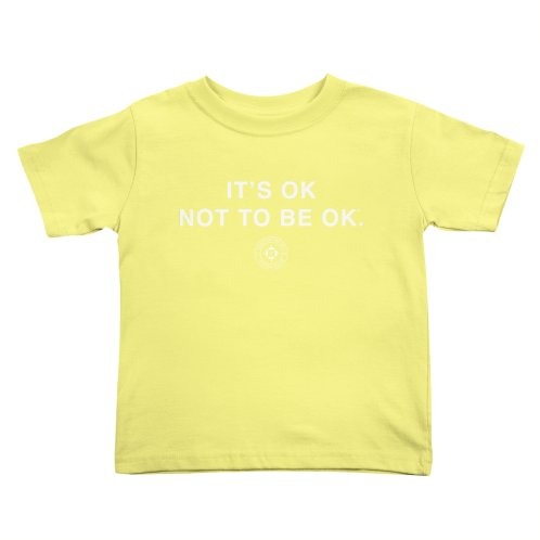 image for IT'S OK White Lettering