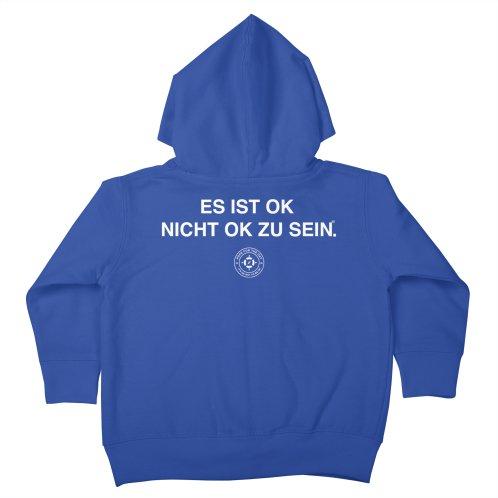 image for IT'S OK German White Lettering
