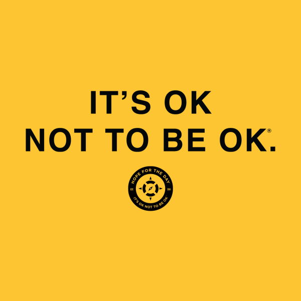 Design for IT'S OK Black Lettering