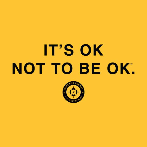 Design for IT'S OK Black Lettering