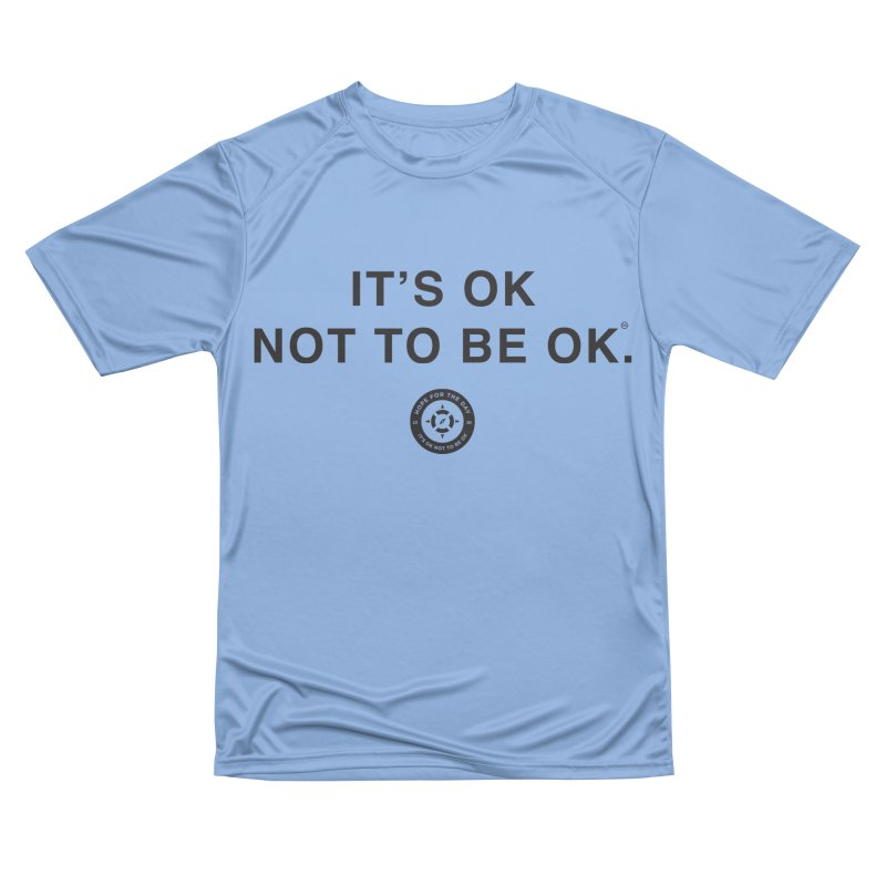IT'S OK Black Lettering Women's T-Shirt by Hope for the Day Shop