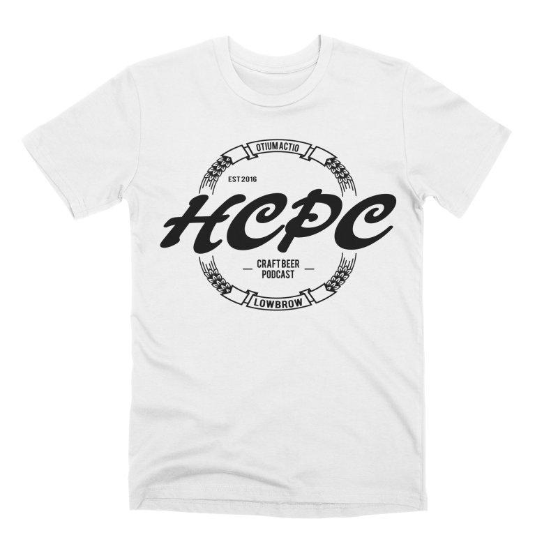 Otium Actio Lowbrow Men's T-Shirt by Hoppy Craftsmen's Swag Portal