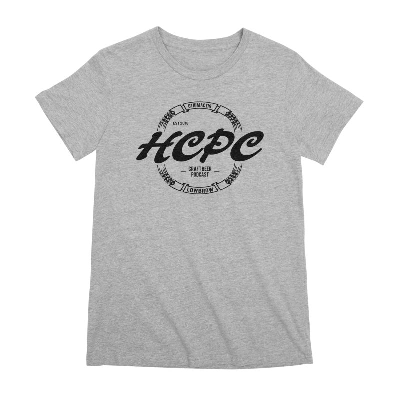 Otium Actio Lowbrow Women's Premium T-Shirt by Hoppy Craftsmen's Swag Portal