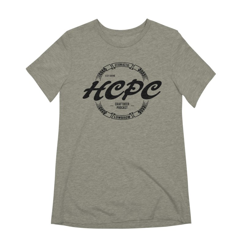 Otium Actio Lowbrow Women's Extra Soft T-Shirt by Hoppy Craftsmen's Swag Portal