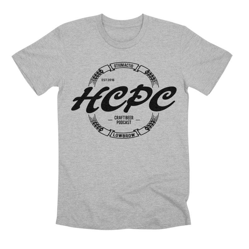 Otium Actio Lowbrow Men's Premium T-Shirt by Hoppy Craftsmen's Swag Portal