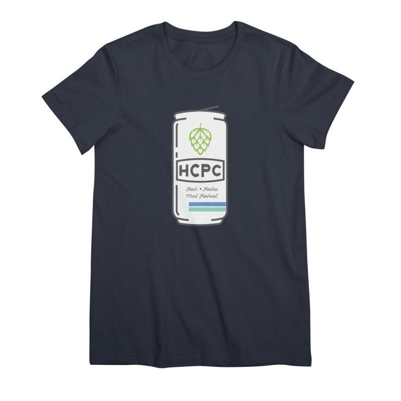 Freshie Can Women's Premium T-Shirt by Hoppy Craftsmen's Swag Portal