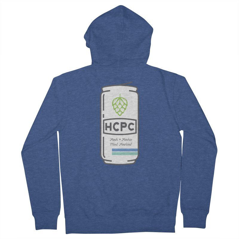 Freshie Can Women's French Terry Zip-Up Hoody by Hoppy Craftsmen's Swag Portal