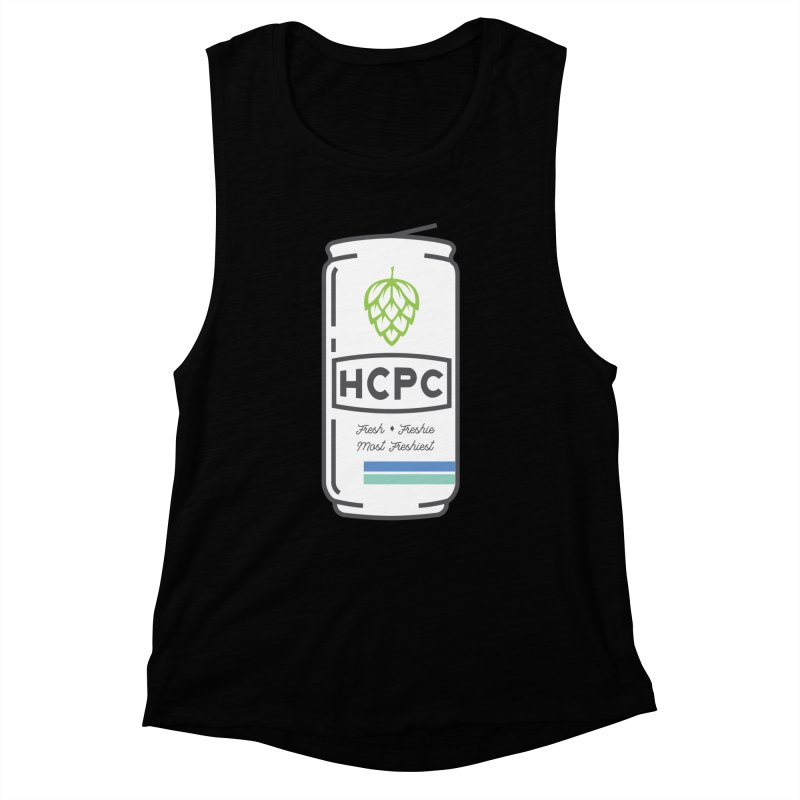 Freshie Can Women's Muscle Tank by Hoppy Craftsmen's Swag Portal