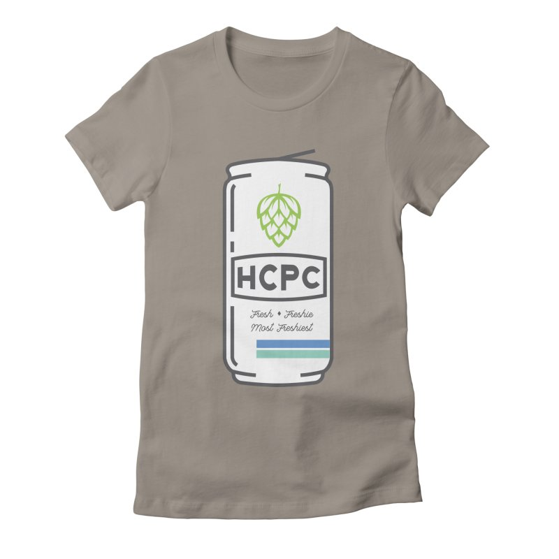 Freshie Can Women's Fitted T-Shirt by Hoppy Craftsmen's Swag Portal