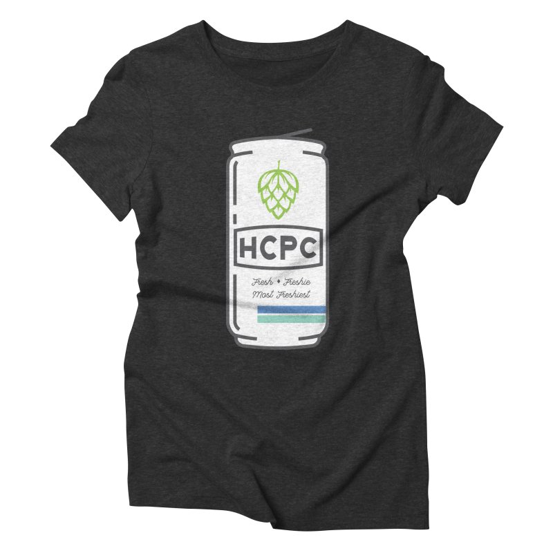 Freshie Can Women's Triblend T-Shirt by Hoppy Craftsmen's Swag Portal