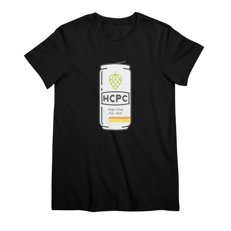 Juicy Can Women's Premium T-Shirt by Hoppy Craftsmen's Swag Portal