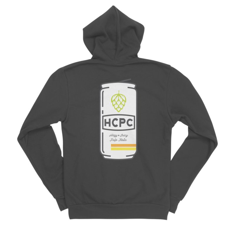 Juicy Can Men's Sponge Fleece Zip-Up Hoody by Hoppy Craftsmen's Swag Portal