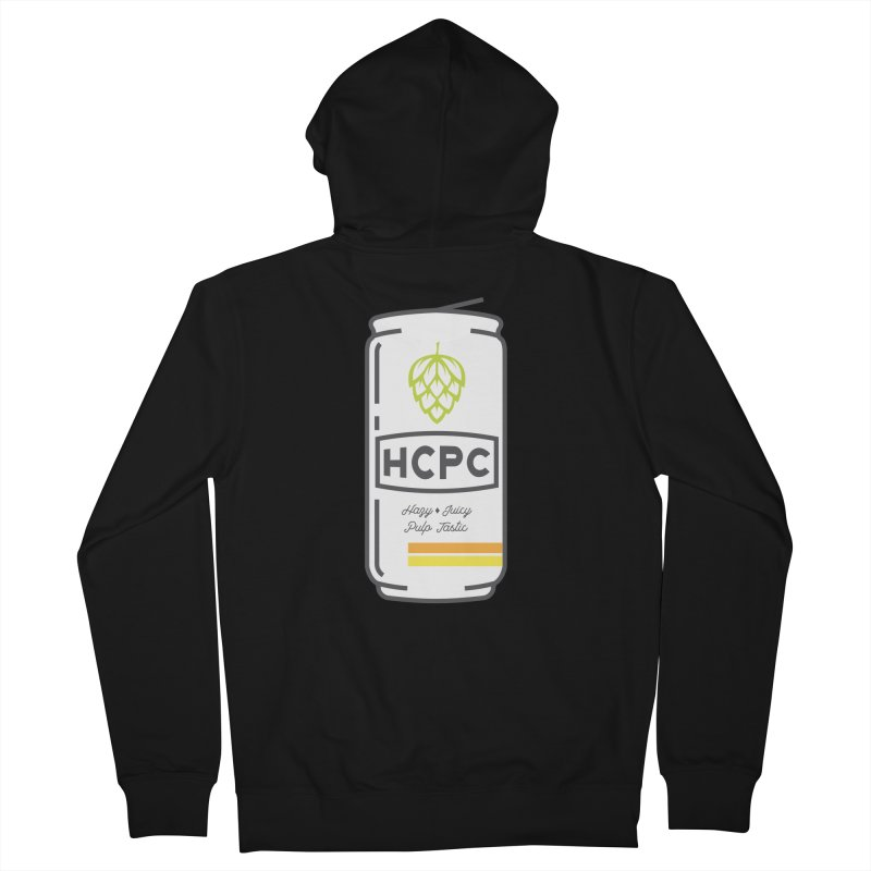 Juicy Can Men's French Terry Zip-Up Hoody by Hoppy Craftsmen's Swag Portal