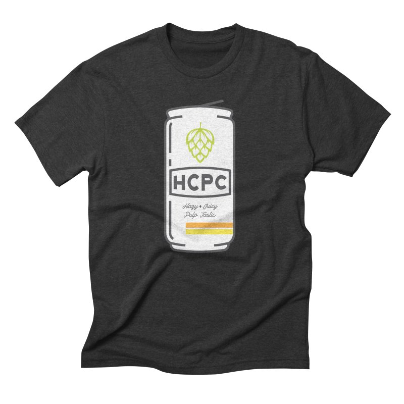 Juicy Can Men's Triblend T-Shirt by Hoppy Craftsmen's Swag Portal