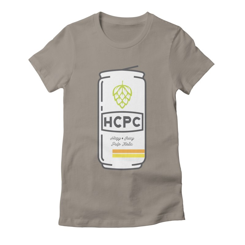Juicy Can Women's Fitted T-Shirt by Hoppy Craftsmen's Swag Portal