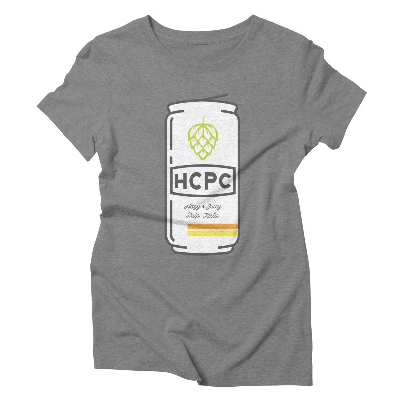 Juicy Can Women's Triblend T-Shirt by Hoppy Craftsmen's Swag Portal