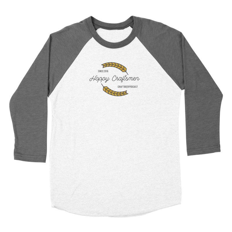 HCPC Logo Old West Women's Baseball Triblend Longsleeve T-Shirt by Hoppy Craftsmen's Swag Portal