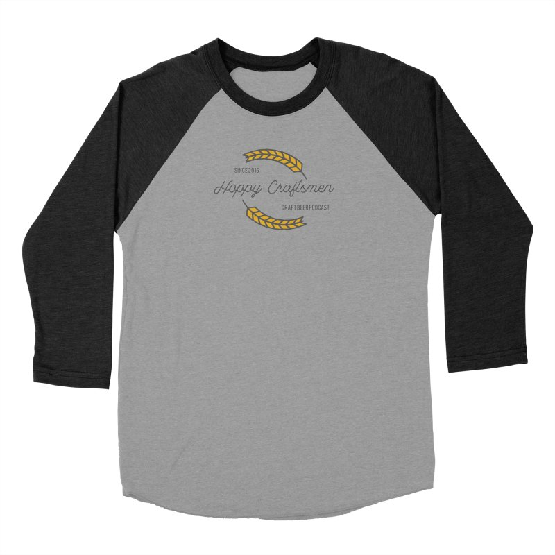 HCPC Logo Old West Men's Baseball Triblend Longsleeve T-Shirt by Hoppy Craftsmen's Swag Portal