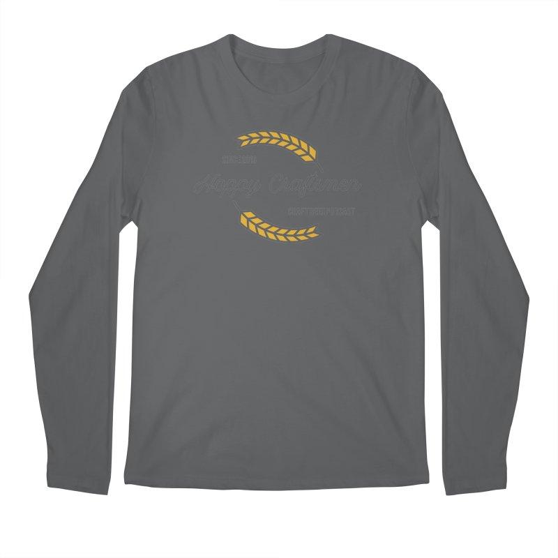 HCPC Logo Old West Men's Longsleeve T-Shirt by Hoppy Craftsmen's Swag Portal