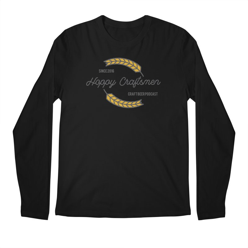 HCPC Logo Old West Men's Regular Longsleeve T-Shirt by Hoppy Craftsmen's Swag Portal