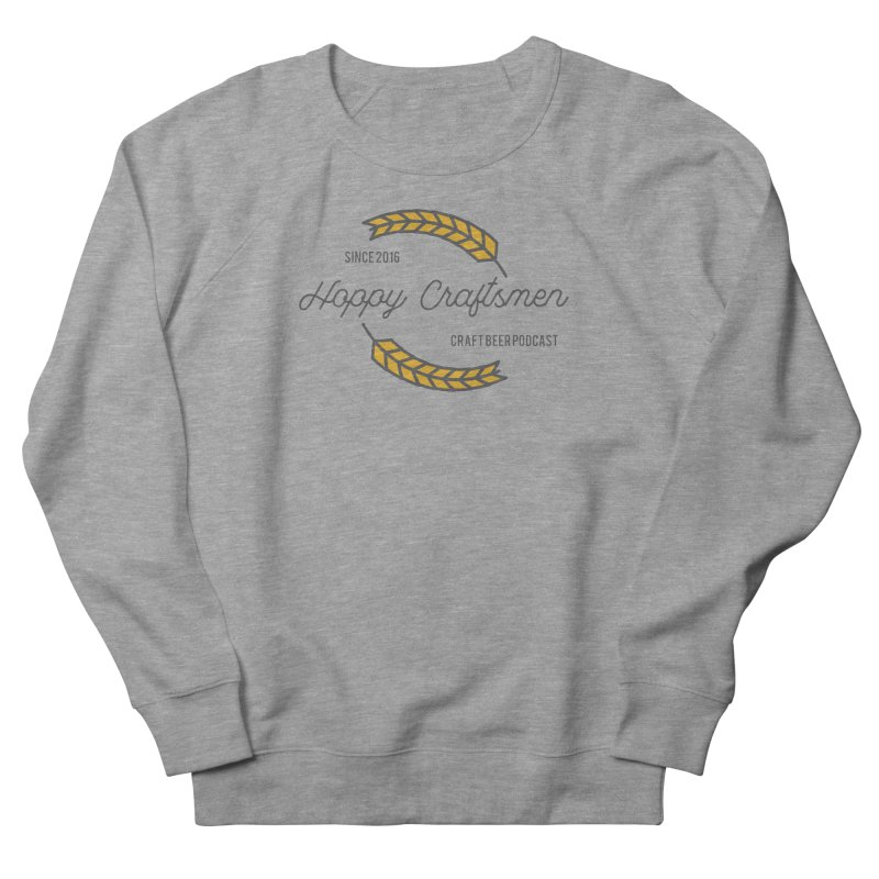 HCPC Logo Old West Men's French Terry Sweatshirt by Hoppy Craftsmen's Swag Portal