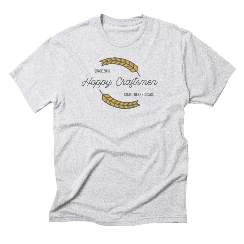 HCPC Logo Old West Men's Triblend T-Shirt by Hoppy Craftsmen's Swag Portal