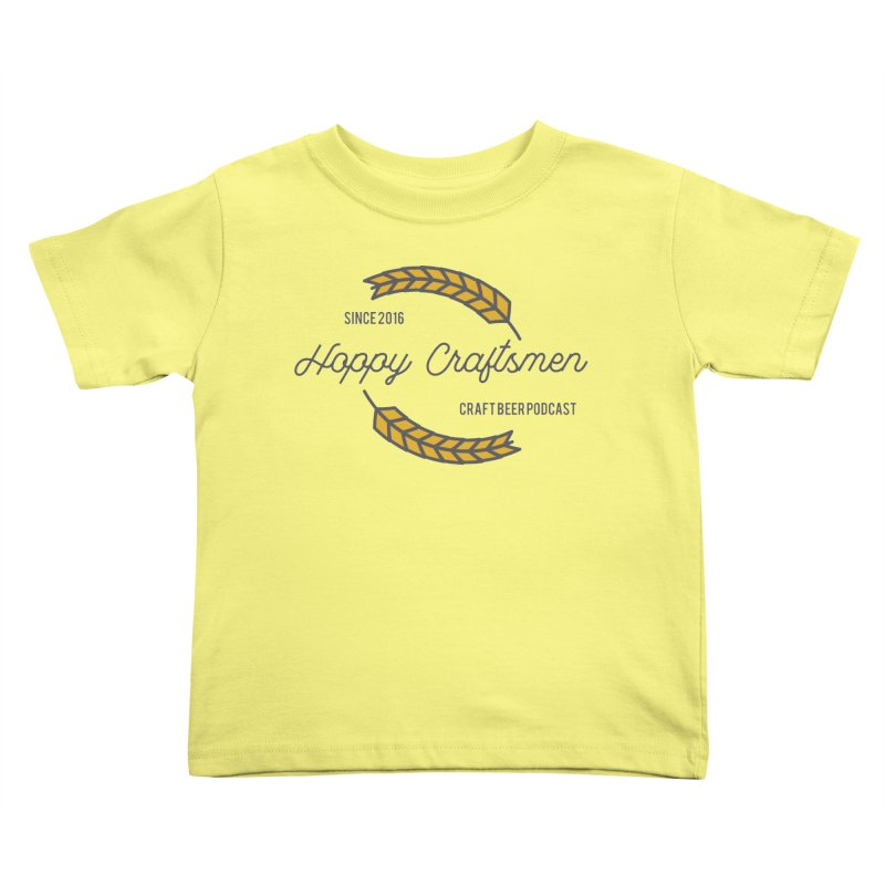 HCPC Logo Old West Kids Toddler T-Shirt by Hoppy Craftsmen's Swag Portal