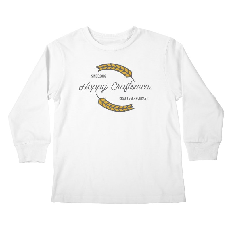 HCPC Logo Old West Kids Longsleeve T-Shirt by Hoppy Craftsmen's Swag Portal
