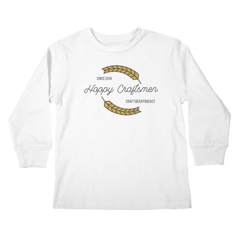 HCPC Logo Old West Kids Longsleeve T-Shirt by Hoppy Craftsmen's Swag Portal