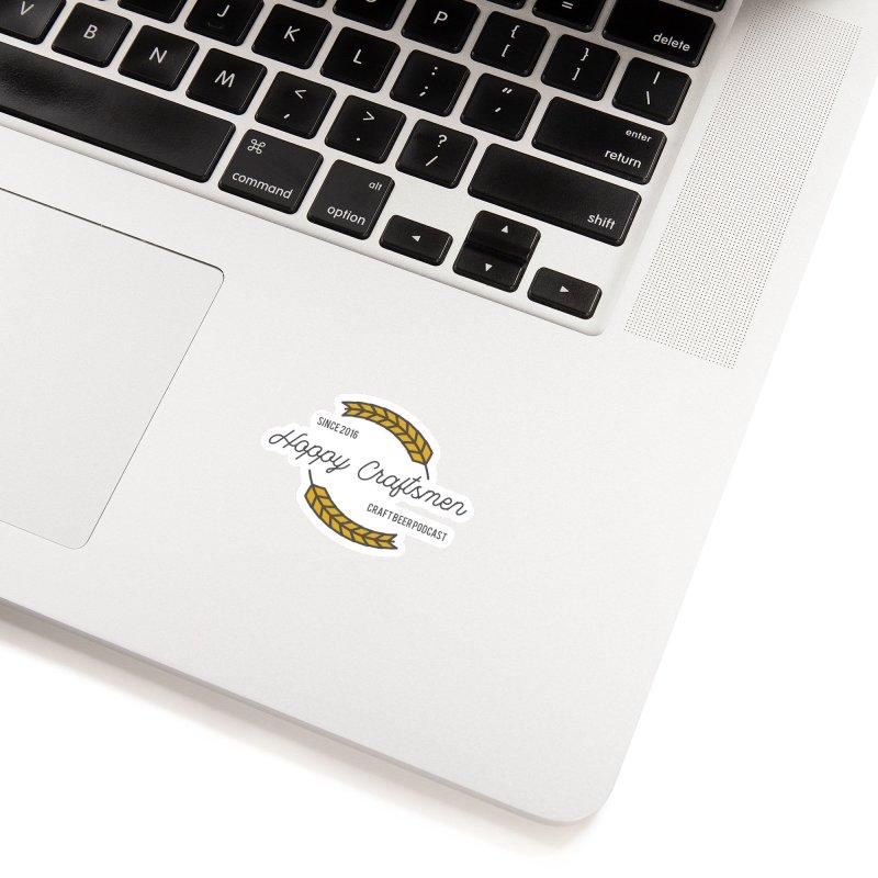 HCPC Logo Old West Accessories Sticker by Hoppy Craftsmen's Swag Portal