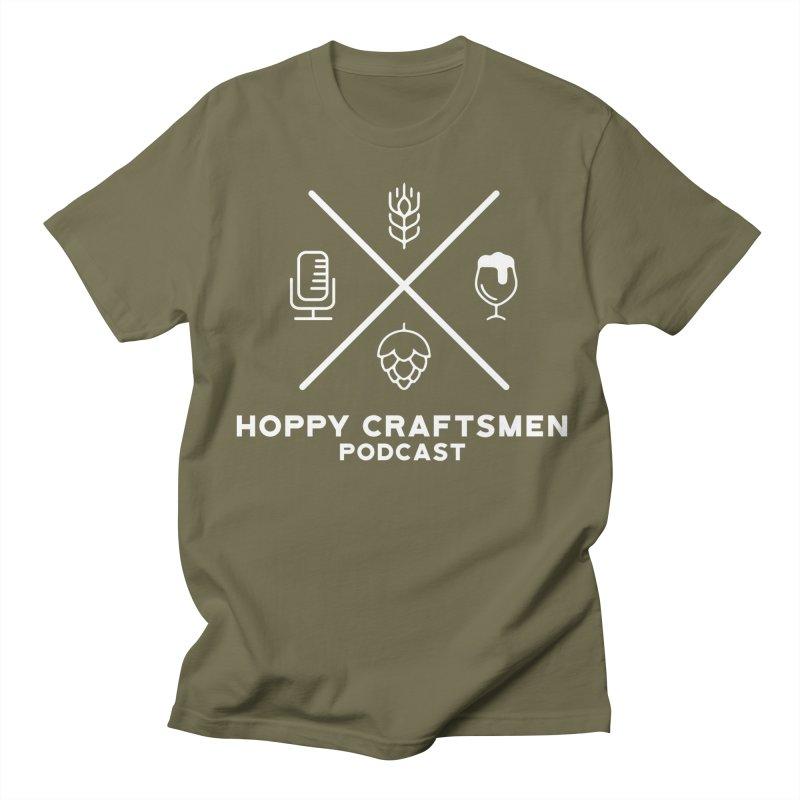 HCPC Icons Logo Men's Regular T-Shirt by Hoppy Craftsmen's Swag Portal