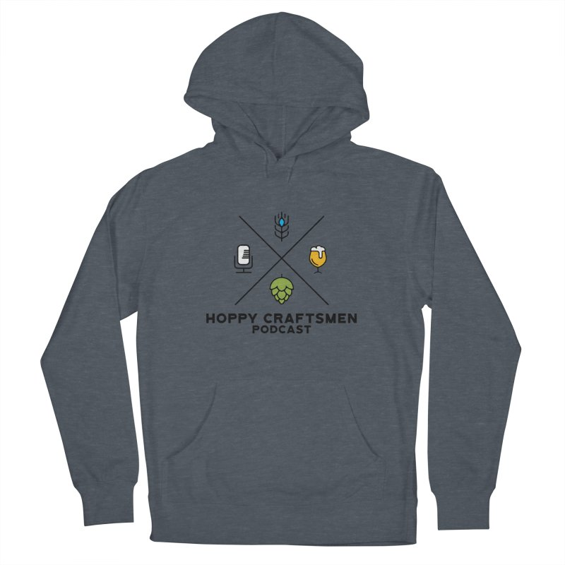 HCPC Logo Men's French Terry Pullover Hoody by Hoppy Craftsmen's Swag Portal