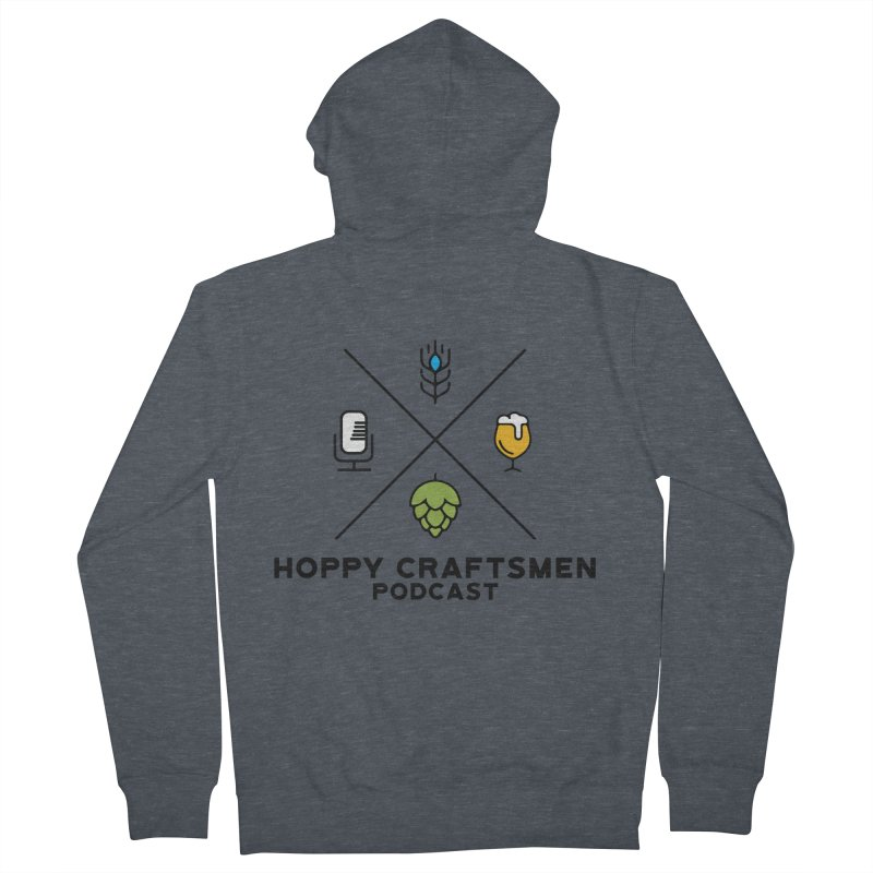 HCPC Logo Women's French Terry Zip-Up Hoody by Hoppy Craftsmen's Swag Portal