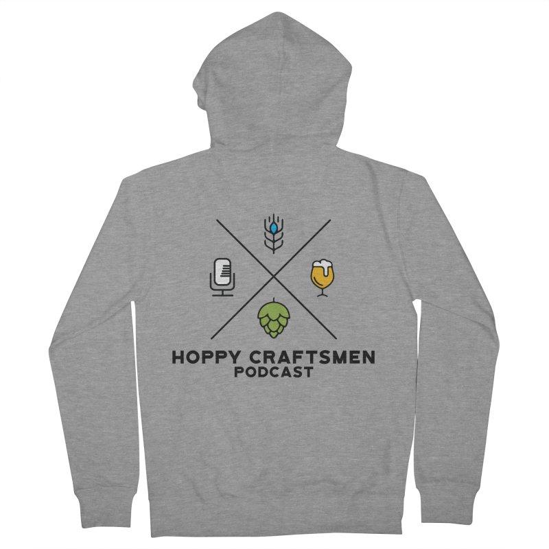 HCPC Logo Men's Zip-Up Hoody by Hoppy Craftsmen's Swag Portal
