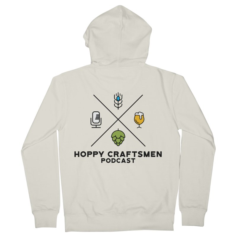 HCPC Logo Men's French Terry Zip-Up Hoody by Hoppy Craftsmen's Swag Portal