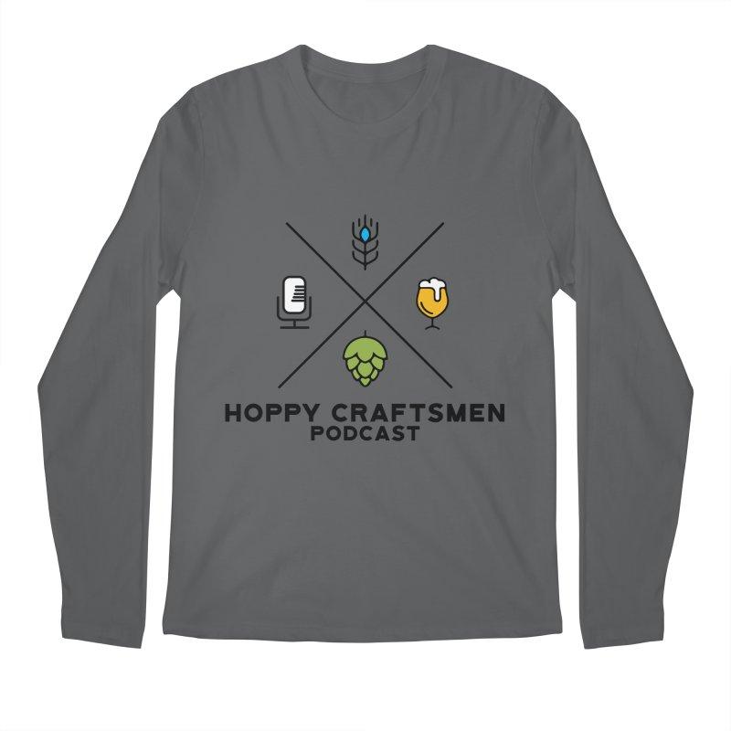 HCPC Logo Men's Longsleeve T-Shirt by Hoppy Craftsmen's Swag Portal