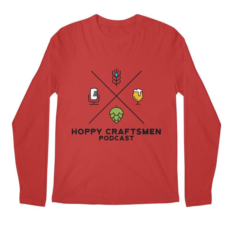 HCPC Logo Men's Regular Longsleeve T-Shirt by Hoppy Craftsmen's Swag Portal