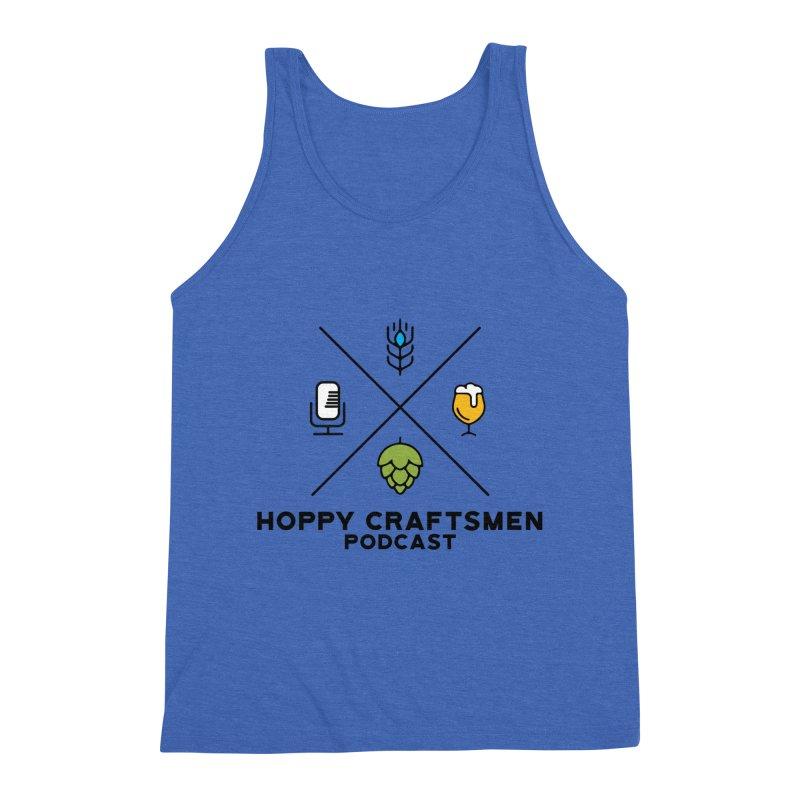 HCPC Logo Men's Triblend Tank by Hoppy Craftsmen's Swag Portal