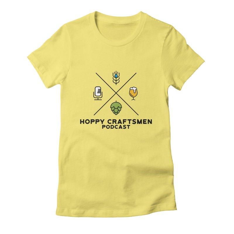 HCPC Logo Women's Fitted T-Shirt by Hoppy Craftsmen's Swag Portal