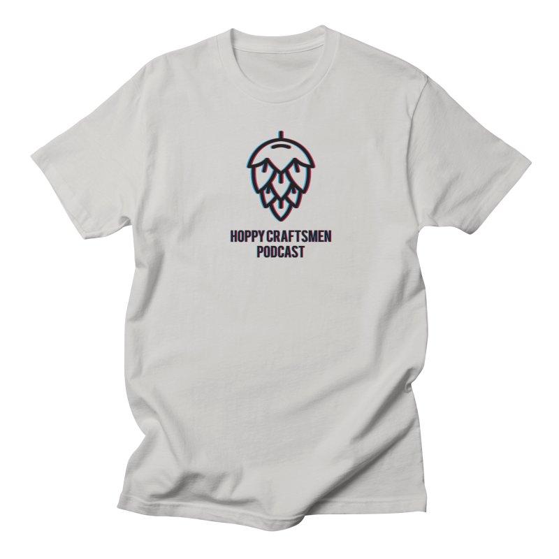 Anaglyphic Hops Men's T-Shirt by Hoppy Craftsmen's Swag Portal