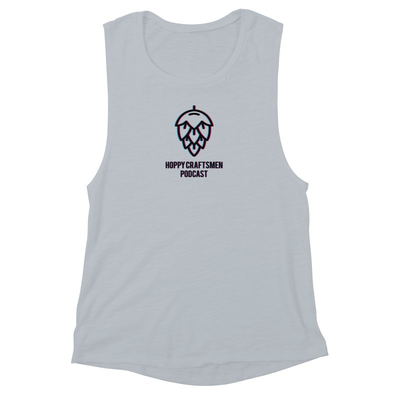 Anaglyphic Hops Women's Muscle Tank by Hoppy Craftsmen's Swag Portal