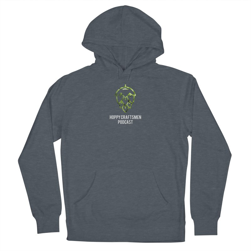 Hops on Hops White Version Women's French Terry Pullover Hoody by Hoppy Craftsmen's Swag Portal