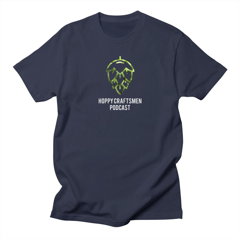Hops on Hops White Version Women's Regular Unisex T-Shirt by Hoppy Craftsmen's Swag Portal
