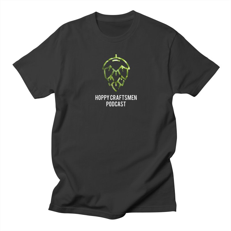 Hops on Hops White Version Men's Regular T-Shirt by Hoppy Craftsmen's Swag Portal
