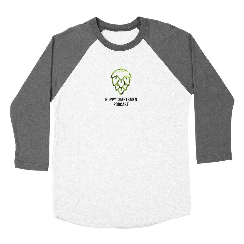 Hops on Hops Black Version Women's Longsleeve T-Shirt by Hoppy Craftsmen's Swag Portal