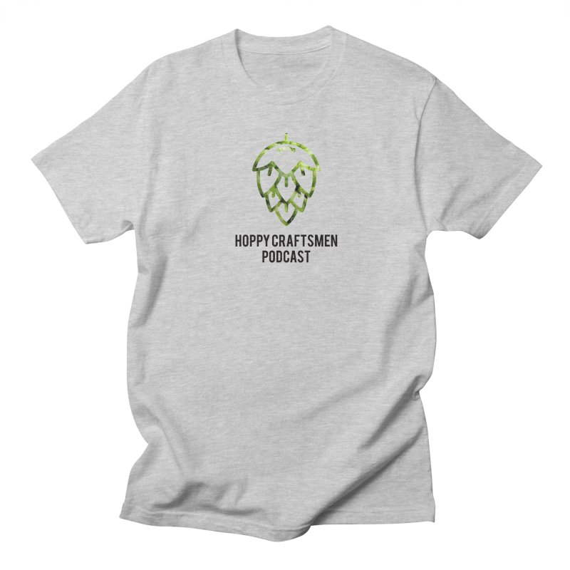 Hops on Hops Black Version Women's Regular Unisex T-Shirt by Hoppy Craftsmen's Swag Portal